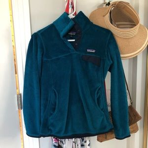 EUC Patagonia Women's Re-Tool Fleece Pullover